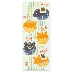 私の Etsy ショップからのお気に入り https://www.etsy.com/jp/listing/462145851/tenugui-animal-fabric-pig-pig-hand-towel