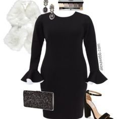 Plus Size Valentine's Date Outfit - Plus Size Dress - Plus Size Fashion for Women - alexawebb.com #plus #size #alexawebb