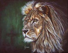 Damba original acrylic painting print of a lion | Etsy Dachshund Art, Postcard Printing, Beagle Dog, Painting Prints, Original Artwork, Lion, Watercolor, Poster Prints, Fine Art