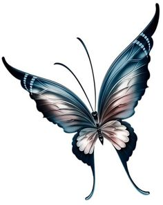 """from album """"Декор разный 2 on, Photo from album """"Декор разный 2 on, Butterfly Wing Tattoo, Butterfly Sketch, Butterfly Tattoo Designs, Butterfly Painting, Butterfly Wallpaper, Butterfly Crafts, Vintage Butterfly, Butterfly Art, Butterfly Design"""