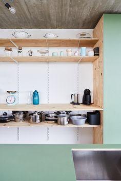 STAARC ingenieurs en architecten - house JS - interior - kitchen - photo Bram Tack