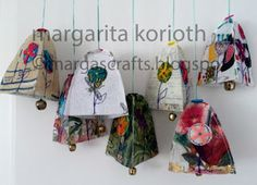 Margas Crafts: *Sheer Paper-Cloth* Ornaments