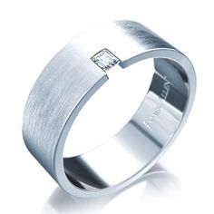 Baguette Diamond Men Wedding Rings | Wedding Rings
