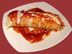 Burritos al horno | Norsk Vegetarforening Burritos, Tortillas, Baked Potato, Wraps, Vegetarian, Vegan, Baking, Ethnic Recipes, Food