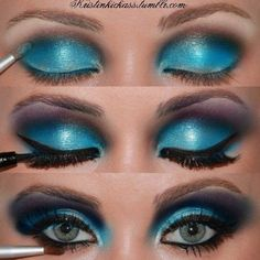 Image detail for -Search results for turquoise makeup on imgfave