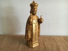 Vintage Infant of Prague Statue Holland Mold 11 by VintageCirque