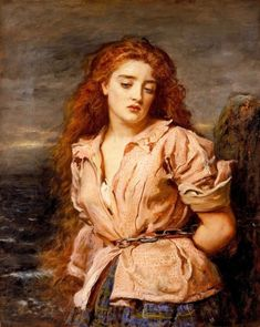 Millais. The Martyr of the Solway. 1871.