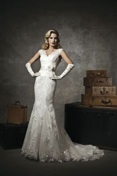 Justin Alexander, Spring 2013 Collection Style: 8626