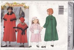 Girl's Sewing Pattern Butterick 4167 Vintage by retrochick66, $6.95