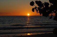Beautiful Sunset at Honeymoon Island Fla state park