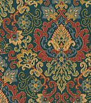 Waverly Upholstery Fabric-Magic Carpet/Sapphire