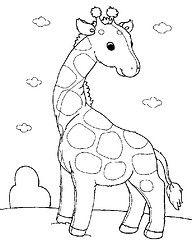 Girafa (Lucia Helena Cesar) Tags: feltro animais Desenhos molde girafa Riscos patchcolagem