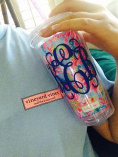 I love this color of the T-shirt. Cute monogram Tumblr too!