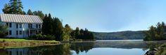 Woodstock VT Area - Silver Lake Pano in Barnard, Vermont