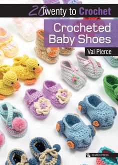 Looking for a cute baby gift? Try these Baby Booties Crochet Patterns. Crochet Baby Sandals, Crochet Baby Boots, Booties Crochet, Baby Booties, Baby Shoes Pattern, Baby Patterns, Crochet Patterns, Loom Patterns, Cute Baby Gifts