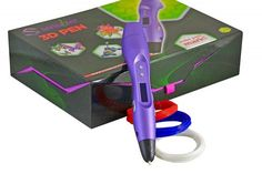 Scribbler Pen New Awesome Design Model Printing Drawing Pen with LED Screen Different Colors Artist Pens, 3d Pen, Small Sculptures, Glue Crafts, Design Model, Design Art, Different Colors, Gifts For Kids, 3 D