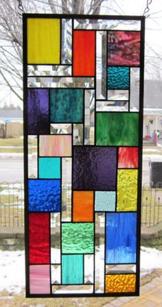 Zephyr Stained Glass Windows Panel | eBay                                                                                                                                                                                 More