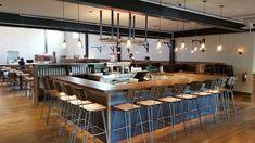 Commercial Bar Design Ideas - How to Design a Bar for a Pizza Restaurant