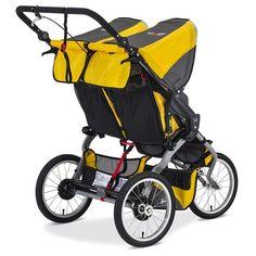 Amazon.com : BOB 2016 Ironman Duallie Jogging Stroller, Yellow : Baby Jogging Stroller, Pram Stroller, Twin Pram, Best Prams, Best Lightweight Stroller, Baby Jogger City Select, Best Baby Strollers, Ironman Triathlon, Travel System