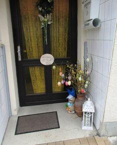 Velikonoční výzdoba u dveří