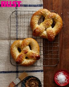 Think soft pretzels are tough to make? They're knot! From BUST Magazine's Aug/Sept 2013 issue.