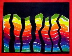 Rainbow Line Design, grade 2