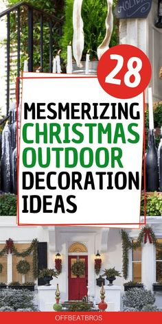 28 Amazing Christmas Outdoor Decorations