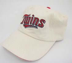 the latest 20227 4411a Minnesota Twins White Baseball Hat Strapback Dairy Queen Game Giveaway 2001   MinnesotaTwins Dairy Queen,