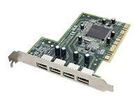 The Adaptec USB 2.0 Connect 4000V Kit 4-PORT Card for Pcs and Macs Clamshell by Adaptec. $27.99. USB2CONNECT 4000V KIT 4PT ROHS