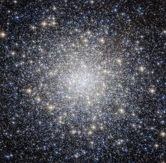 A new NASA/ESA Hubble Space Telescope image shows globular cluster Messier 92. Image released Dec. 8, 2014.