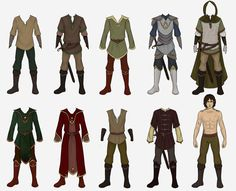 Jurre Wardrobe Collab :) by Gnewi on DeviantArt for male character design Fantasy Character Design, Character Design Inspiration, Character Art, Anime Style, Kleidung Design, Medieval Clothing, Medieval Costumes For Men, Medieval Fashion, Fantasy Costumes