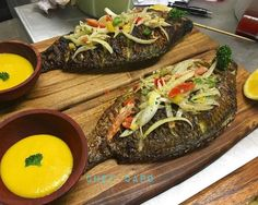 Ivorian style baked fish