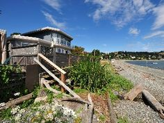Walk-on waterfront on historic Departure Bay BeachVacation Rental in Nanaimo from @homeaway! #vacation #rental #travel #homeaway
