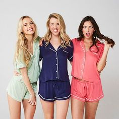 Slumber Party PJs?!!  tag your girls! #pajama #usamade loveophelia.com
