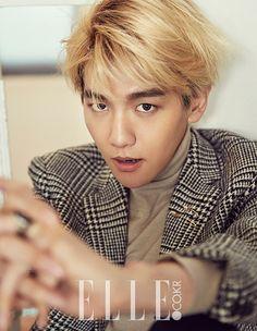 ELLE Korea Magazine, November 2015 Issue : Baekhyun