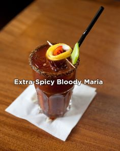Extra Spicy Bloody Maria (make it with Sauza® Blue!) #recipes