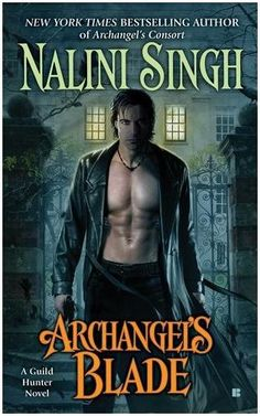Dmitri from Archangel's Blade, The Guild Hunter's Series.  Dimitri, the 1,000 Year old vampire and archangel Raphael's lieutenant.