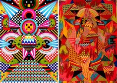 Arnaud Loumeau's colorful patterns