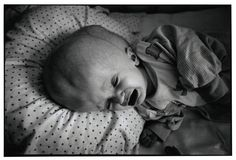 BELARUS. Minsk. Babies Home #1. A hydrocephalic baby in the intensive care unit.    Paul Fusco/Magnum Photos