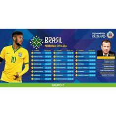 Brazil 2015 Copa  America Chile