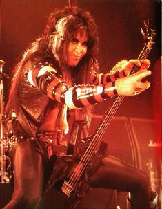 BLACKIE LAWLESS OF W.A.S.P.