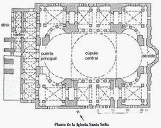 Estilo Bizantino. Iglesia de Santa Sofía (página 2) - Monografias.com