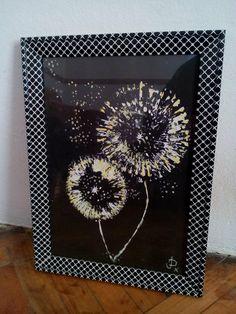 Dandelion clocks for Jan