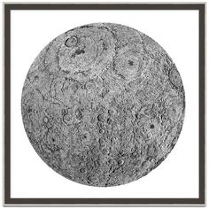 Wendover Art Group Silver Moon Wall Art (10,130 MXN) ❤ liked on Polyvore featuring home, home decor, wall art, decor, art, circle, filler, black, black wall art and circle wall art