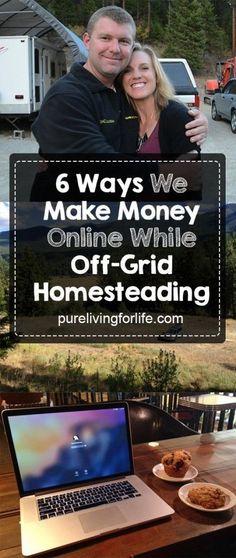make money online from home while homesteading Career Advice, Career Tips