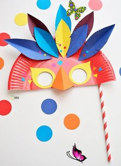 Rio - Brésil  <br> Kids Crafts, Preschool Crafts, Easy Crafts, Diy And Crafts, Arts And Crafts, Paper Crafts, Decor Crafts, Crafts For Children, Paper Plate Crafts For Kids