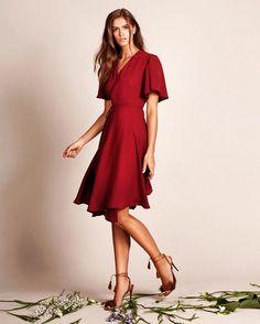 12 Best Red bridesmaid dresses images  d5d6d880a
