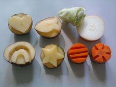 Autumn Art Ideas For Kids Toddlers Super Ideas Autumn Art Ideas For Kids, Diy For Kids, Crafts For Kids, Potato Stamp, Potato Print, Creative Activities, Activities For Kids, Vegetable Crafts, Funny Fruit