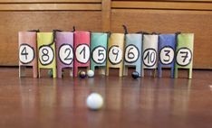 Toilet paper tube number recognition