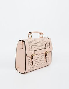 ASOS Heart Punchout Satchel Bag